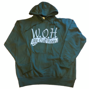 W.O.H We Out Here Hoodie - Green
