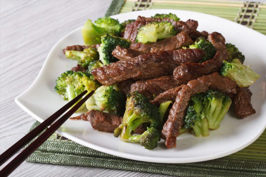 Cashew Beef & Broccoli