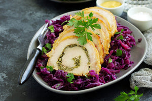 Roast Pork Loin with Cabbage