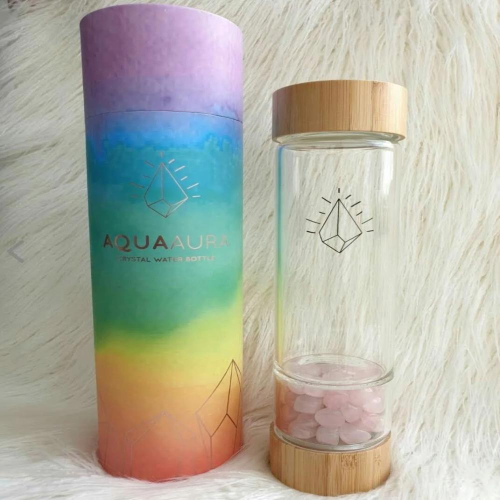 AQUA AURA CRYSTAL WATER BOTTLES