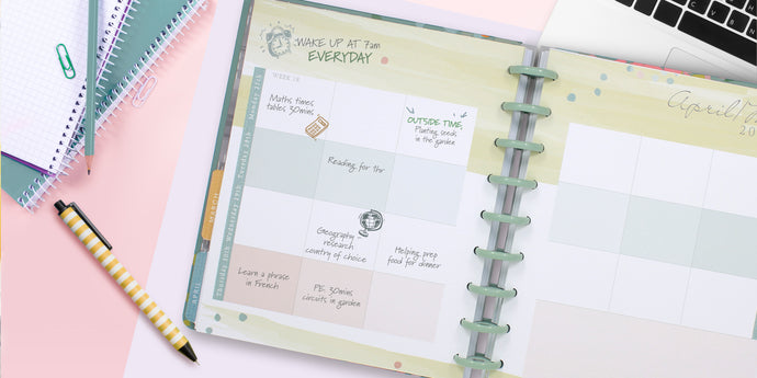 Homeschooling with the Busy Days Planner