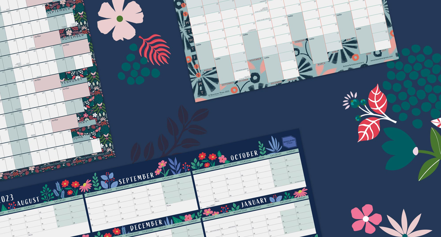 academic year wall planners