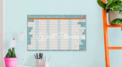 Forward thinker? Check out our range of Wall Planners