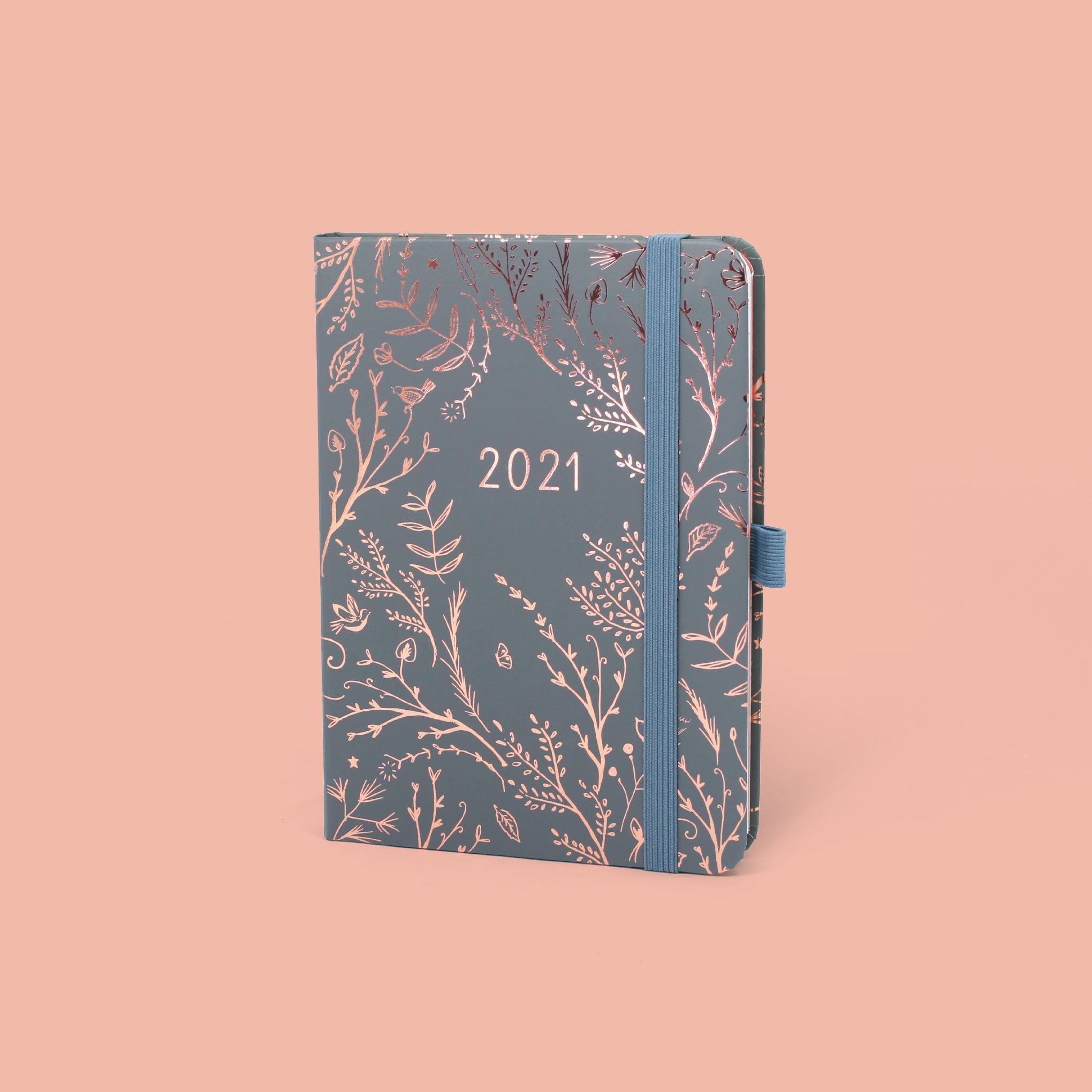 An image of 2021 Boxclever Press Enjoy Everyday Diary in Mist I Week-to-view