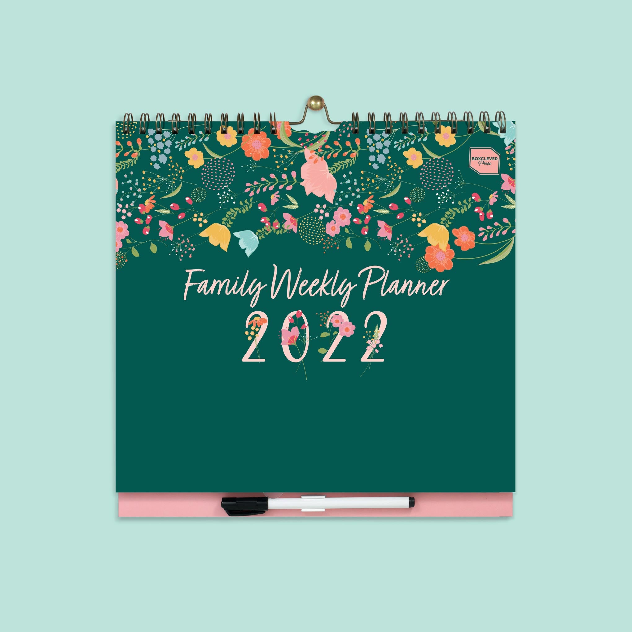 An image of 2020 - 2021 Family Weekly Planner I Family Organiser I Boxclever Press