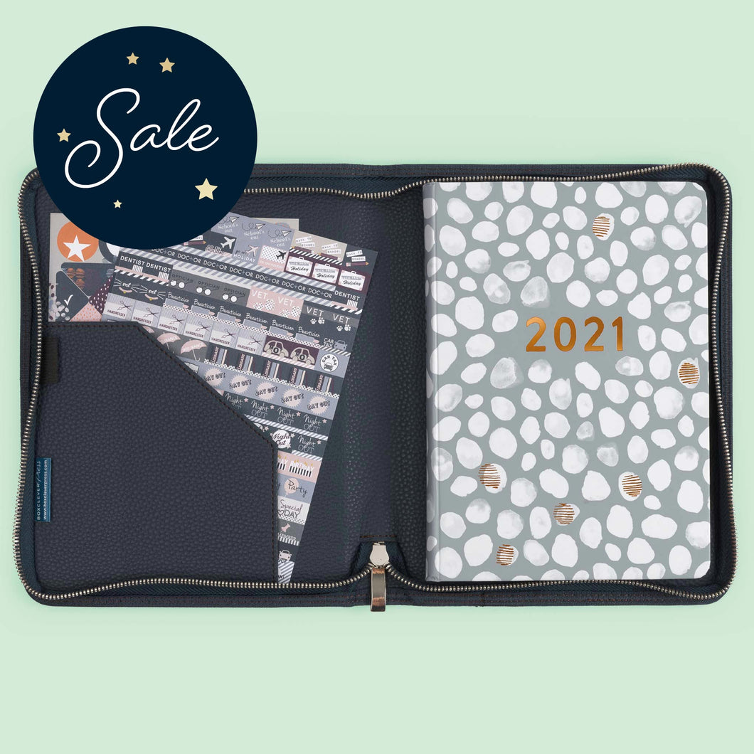 2021 Perfect Year Family A5 Diary in Cover
