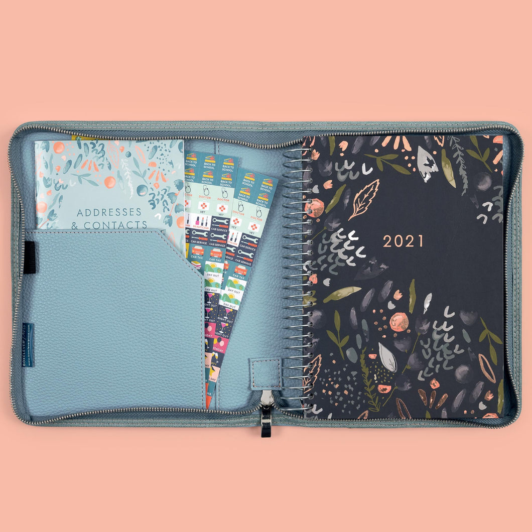 2020 2021 Lifebook A5 Diary in a luxury cover on a beige background