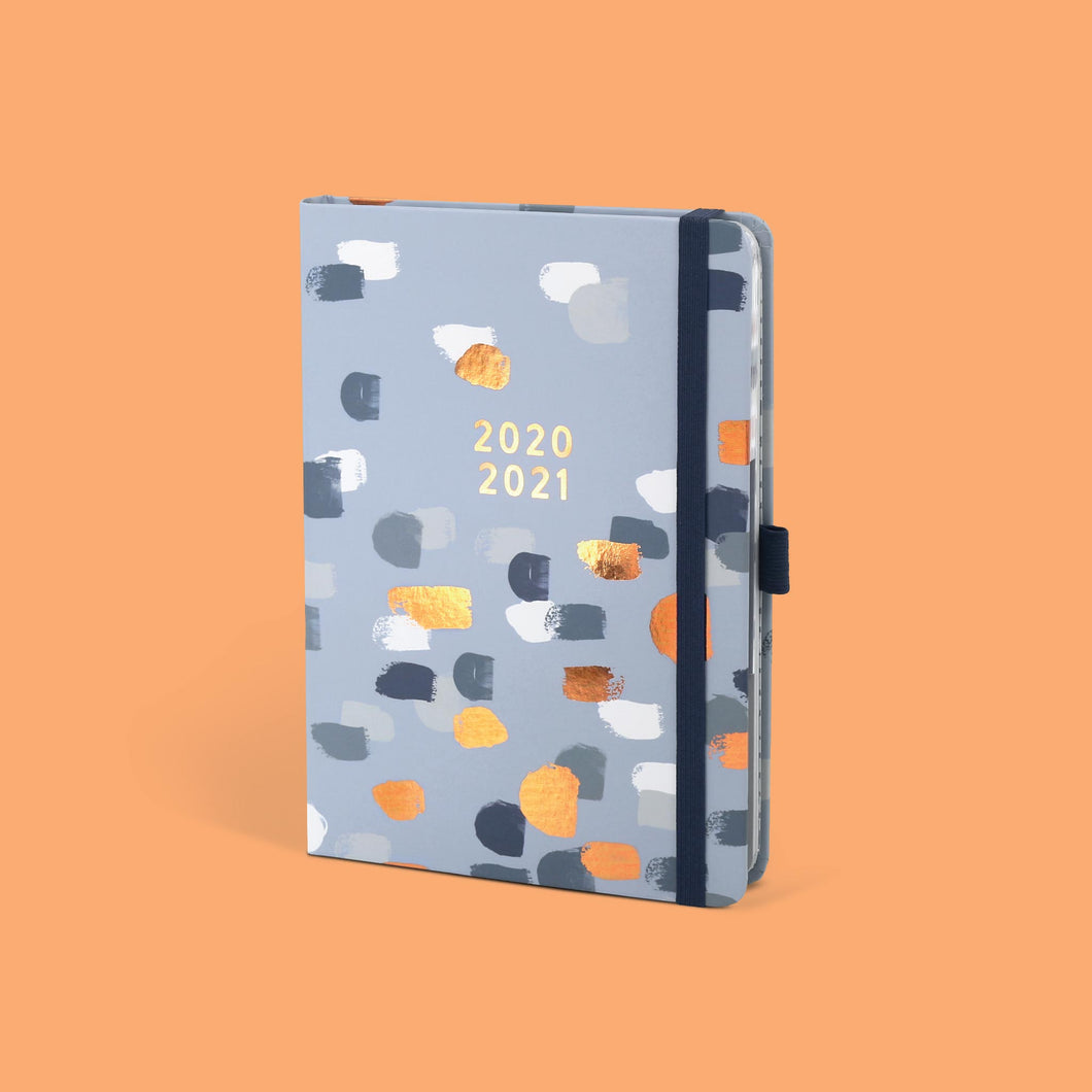 The Perfect Year Academic A5 family diary 2021 on a sand colour background