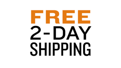 Enjoy Free 2 Day Shipping