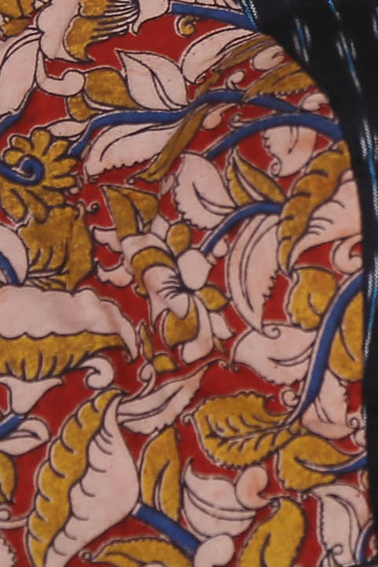 Kalamkari cotton blouse