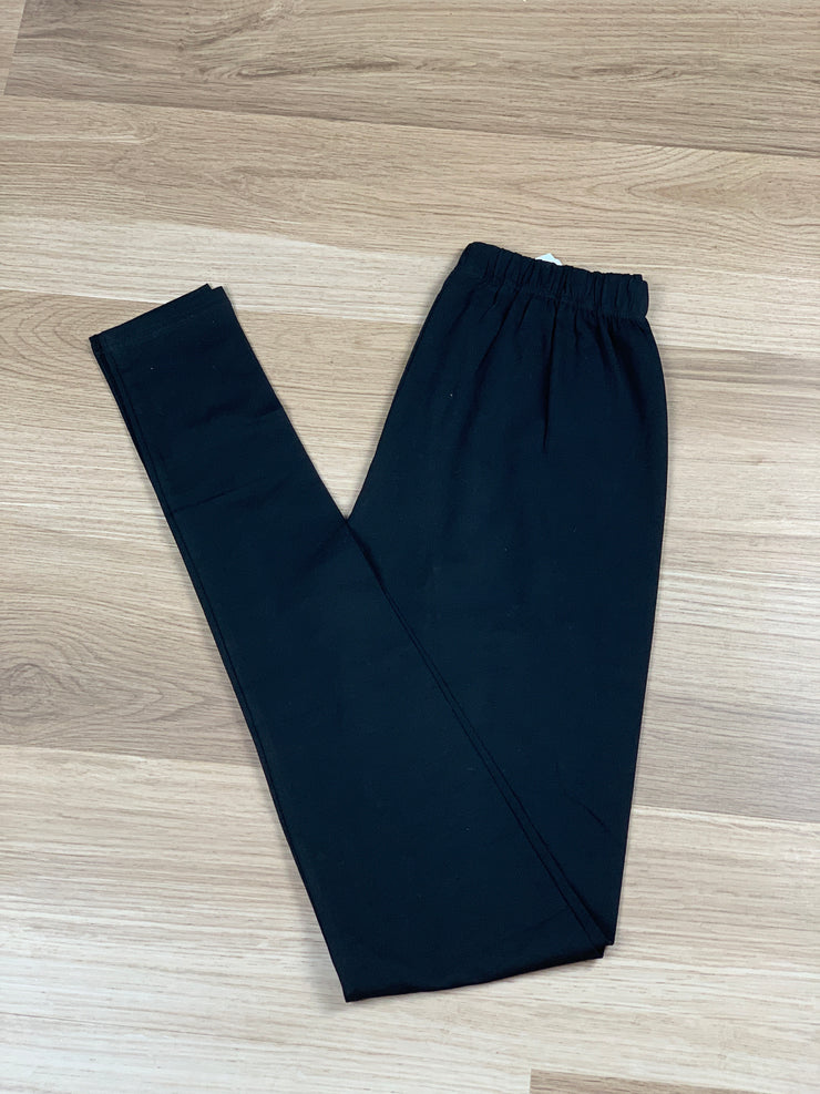 Cotton Leggins Black