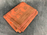 Peach Brocade tissue