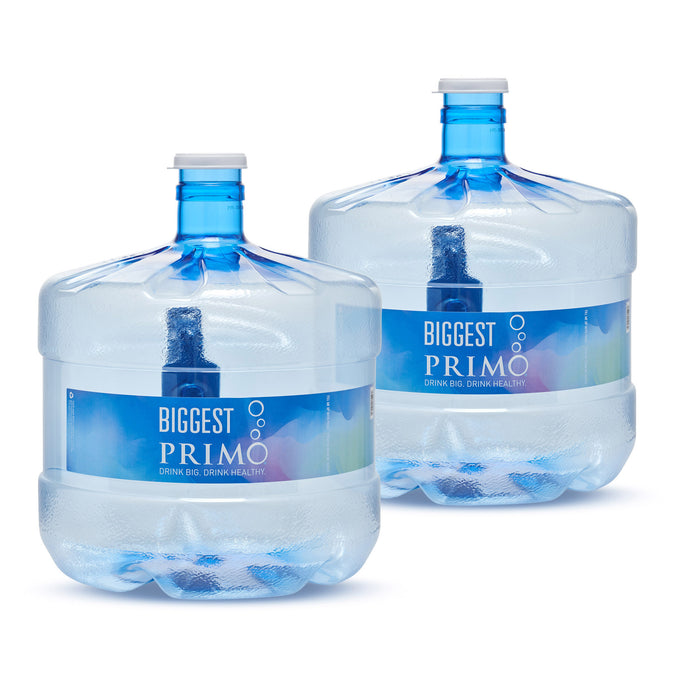 Two 3 Gallon Water Jugs