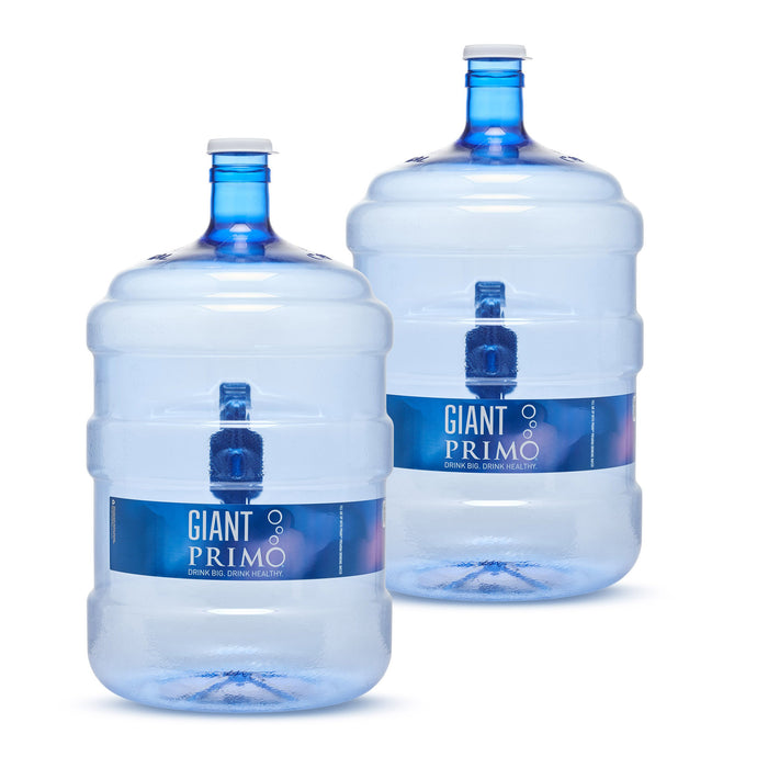 5 Gallon Refillable Water Jug - 2 Pack