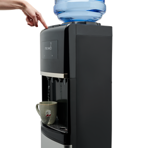 Deluxe Top Loading Water Dispenser with Pet Station - Hot Water