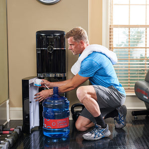 Smart Touch Deluxe Bottom Loading Water Dispenser - Convenient Bottle Access