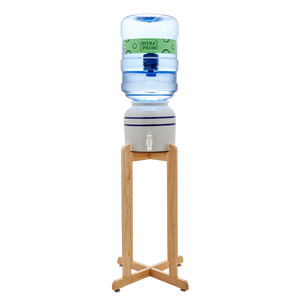 Primo Tall Wooden Stand - Crock Dispenser
