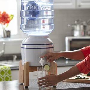 Countertop Ceramic Water Dispenser - Dispenses Room Temperature Water