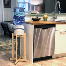 Load image into Gallery viewer, Primo Tall Wooden Stand in Kitchen