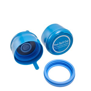 Non-Spill Reusable Bottle Caps (2 Pack)