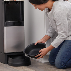 Deluxe Top Loading Water Dispenser with Pet Station - Removable Pet Bowl