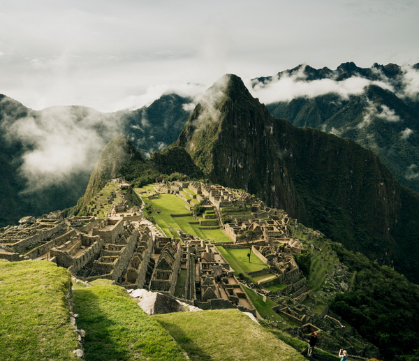 The country Peru and Machu Picchu