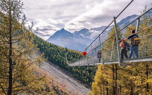 Charles Kuonen Suspension Bridge, Switzerland