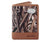 Arkansas Razorbacks Trifold Realtree Max-5 Camo & Leather Wallet - NCAA