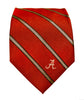 Alabama Crimson Tide Thin Stripe Necktie - NCAA