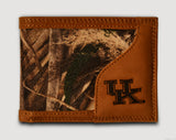 Kentucky Wildcats Bifold Realtree Max-5 Camo & Leather Wallet - NCAA