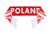 Poland National Team Soccer Scarf - FIFA