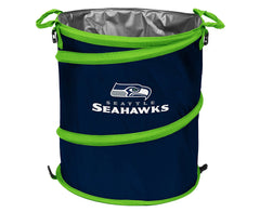 Seattle Seahawks 3-in-1 Collapsible Cooler, Trash Can or Laundry Hamper - NFL