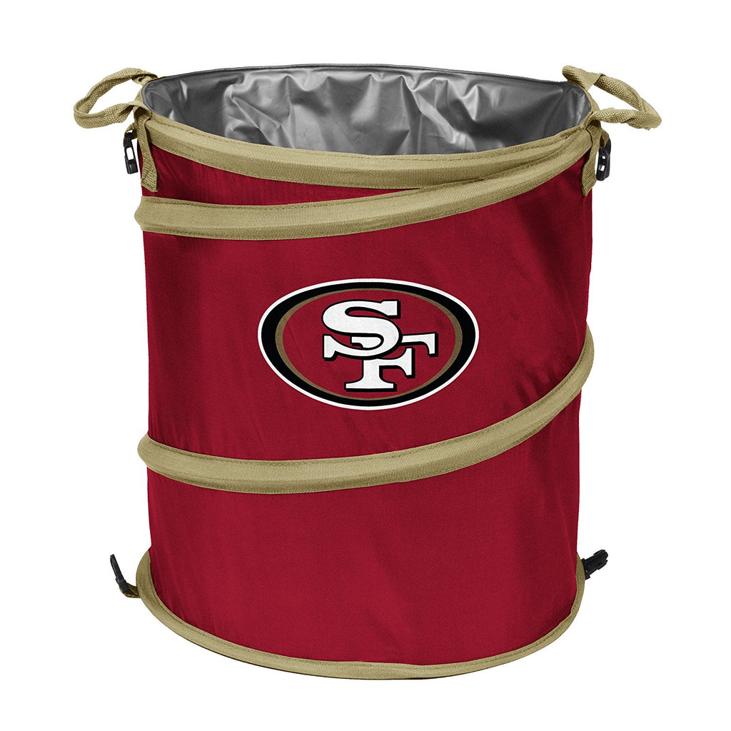San Francisco 49ers 3-in-1 Collapsible Cooler, Trash Can or Laundry Hamper - NFL