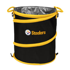 Pittsburgh Steelers 3-in-1 Collapsible Cooler, Trash Can or Laundry Hamper - NFL
