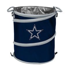 Dallas Cowboys 3-in-1 Collapsible Cooler, Trash Can or Laundry Hamper - NFL