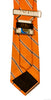 Tennessee Volunteers Thin Stripe Necktie - NCAA