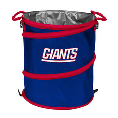 New York Giants 3-in-1 Collapsible Cooler, Trash Can or Laundry Hamper - NFL