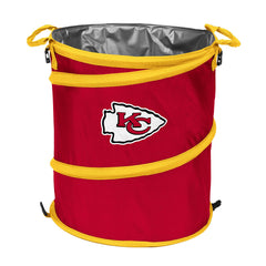 Kansas City Chiefs 3-in-1 Collapsible Cooler, Trash Can or Laundry Hamper - NFL