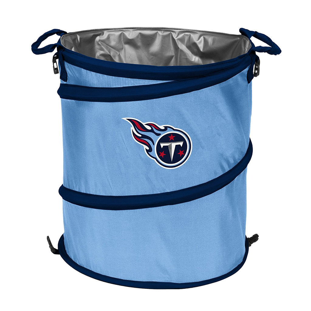 Tennessee Titans 3-in-1 Collapsible Cooler, Trash Can or Laundry Hamper - NFL