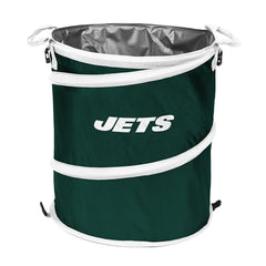New York Jets 3-in-1 Collapsible Cooler, Trash Can or Laundry Hamper - NFL