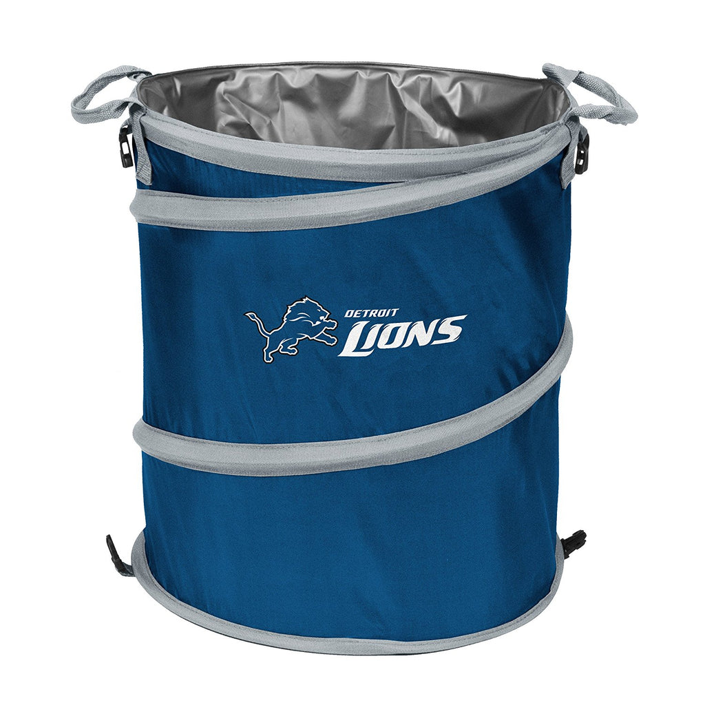 Detroit Lions 3-in-1 Collapsible Cooler, Trash Can or Laundry Hamper - NFL