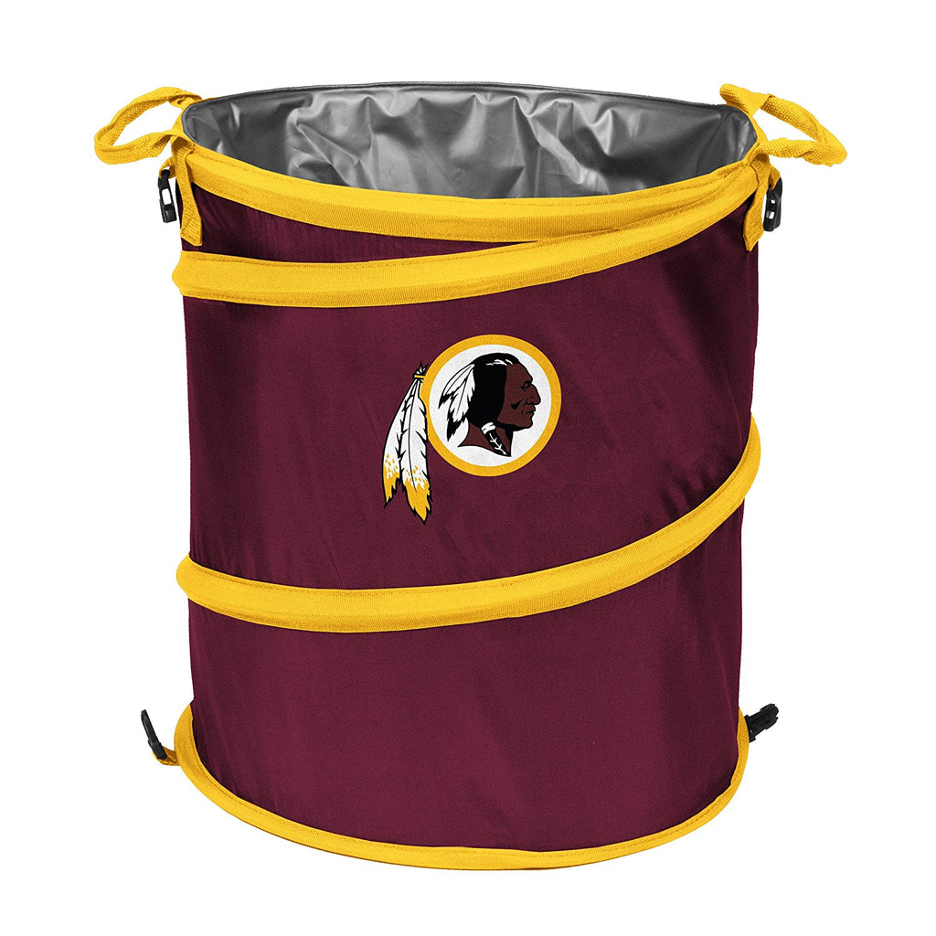 Washington Redskins 3-in-1 Collapsible Cooler, Trash Can or Laundry Hamper - NFL