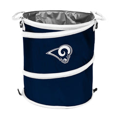 Los Angeles Rams 3-in-1 Collapsible Cooler, Trash Can or Laundry Hamper - NFL