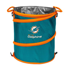 Miami Dolphins 3-in-1 Collapsible Cooler, Trash Can or Laundry Hamper - NFL