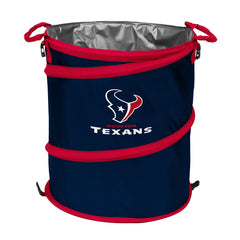 Houston Texans 3-in-1 Collapsible Cooler, Trash Can or Laundry Hamper - NFL