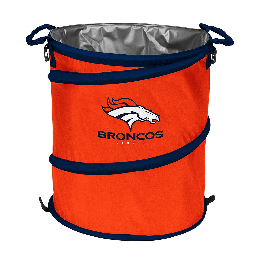 Denver Broncos 3-in-1 Collapsible Cooler, Trash Can or Laundry Hamper - NFL
