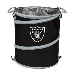 Oakland Raiders 3-in-1 Collapsible Cooler, Trash Can or Laundry Hamper - NFL