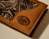 Penn State Nittany Lions Bifold Realtree Max-5 Camo & Leather Wallet - NCAA