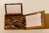 West Virginia Mountaineers Bifold Realtree Max-5 Camo & Leather Wallet - NCAA