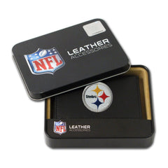 Pittsburgh Steelers Embroidered Trifold Wallet